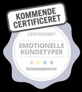 Certificering i emotionelle kundetyper