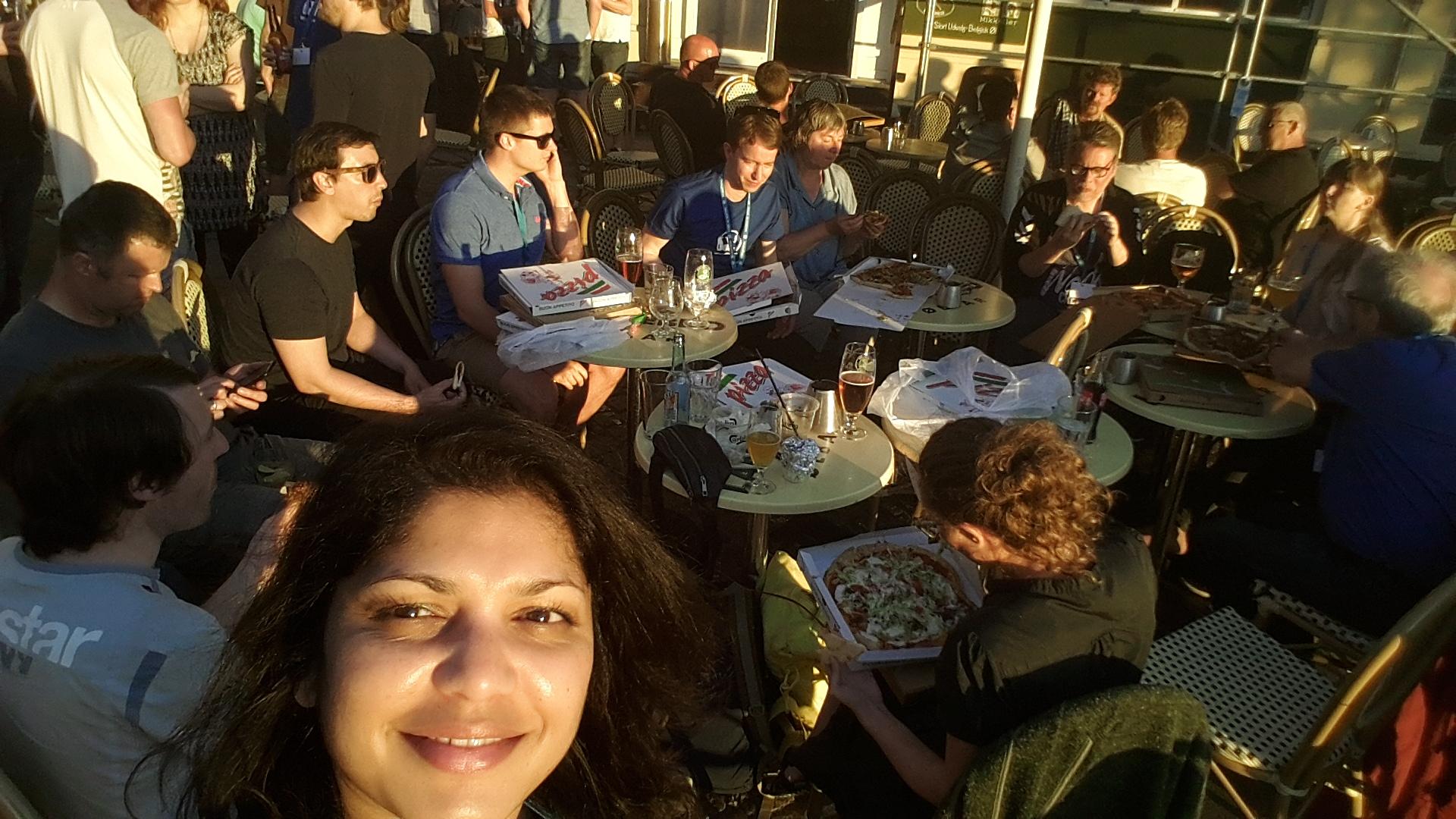WordCampere på Café Langebro