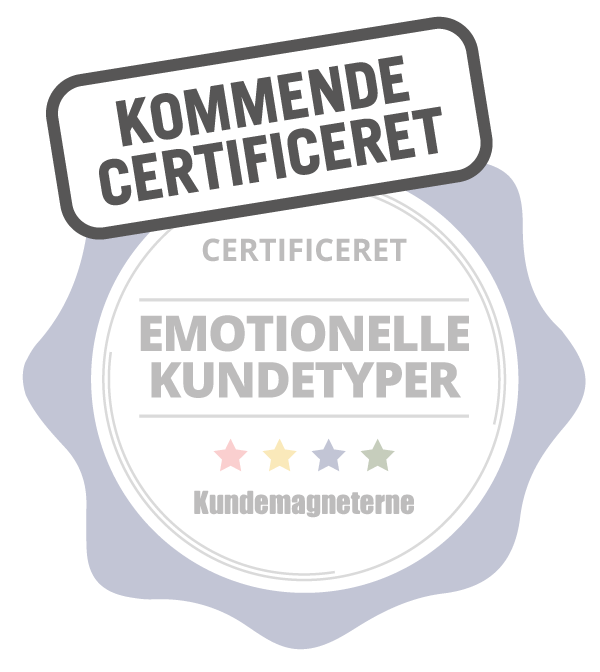 Certificering i emotionelle kundetyper