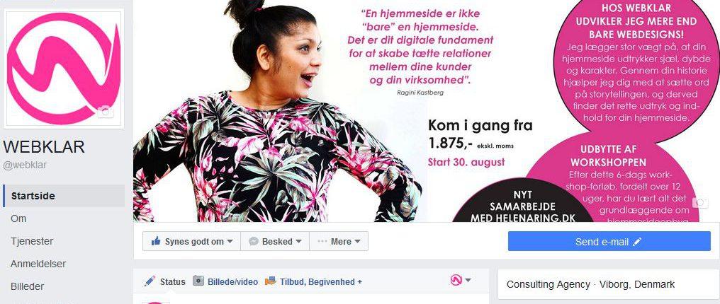 Hjemmeside vs. Facebook